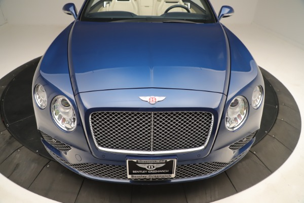 Used 2017 Bentley Continental GTC V8 for sale $149,900 at Rolls-Royce Motor Cars Greenwich in Greenwich CT 06830 20