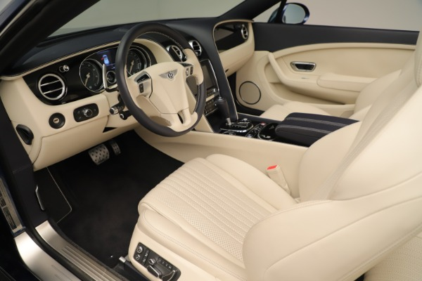 Used 2017 Bentley Continental GTC V8 for sale $149,900 at Rolls-Royce Motor Cars Greenwich in Greenwich CT 06830 24