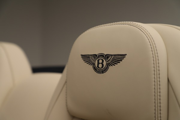 Used 2017 Bentley Continental GTC V8 for sale Sold at Rolls-Royce Motor Cars Greenwich in Greenwich CT 06830 27