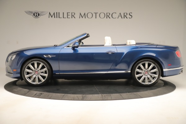Used 2017 Bentley Continental GTC V8 for sale Sold at Rolls-Royce Motor Cars Greenwich in Greenwich CT 06830 3