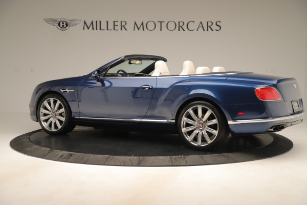 Used 2017 Bentley Continental GTC V8 for sale $149,900 at Rolls-Royce Motor Cars Greenwich in Greenwich CT 06830 4