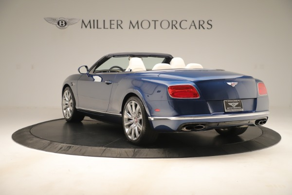 Used 2017 Bentley Continental GTC V8 for sale $149,900 at Rolls-Royce Motor Cars Greenwich in Greenwich CT 06830 5