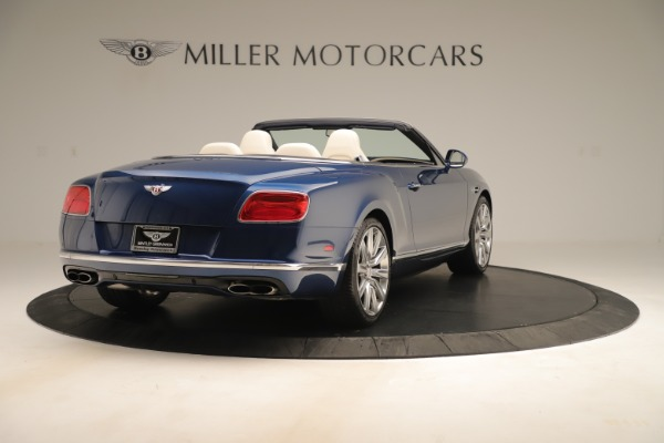 Used 2017 Bentley Continental GTC V8 for sale Sold at Rolls-Royce Motor Cars Greenwich in Greenwich CT 06830 7