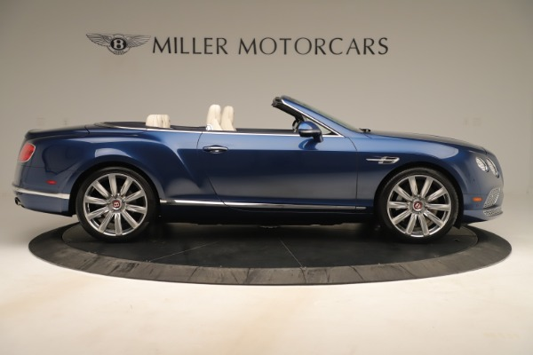 Used 2017 Bentley Continental GTC V8 for sale Sold at Rolls-Royce Motor Cars Greenwich in Greenwich CT 06830 9