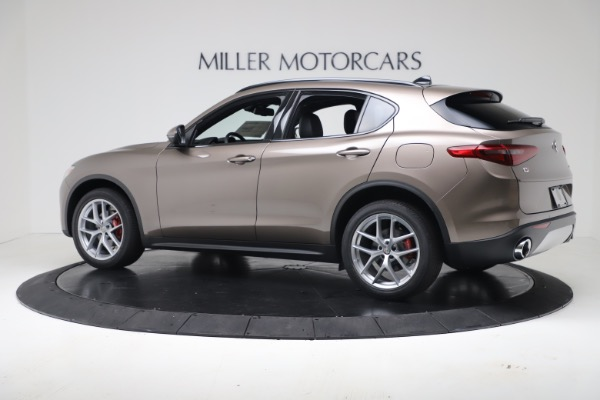 New 2019 Alfa Romeo Stelvio Ti Sport Q4 for sale Sold at Rolls-Royce Motor Cars Greenwich in Greenwich CT 06830 4