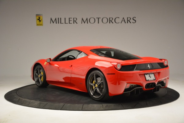 Used 2013 Ferrari 458 Italia for sale Sold at Rolls-Royce Motor Cars Greenwich in Greenwich CT 06830 5