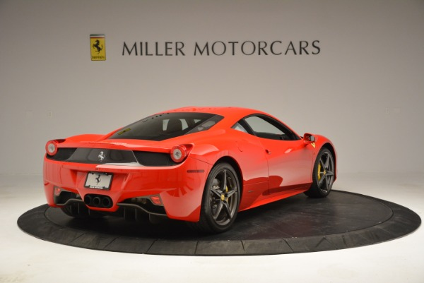 Used 2013 Ferrari 458 Italia for sale Sold at Rolls-Royce Motor Cars Greenwich in Greenwich CT 06830 7