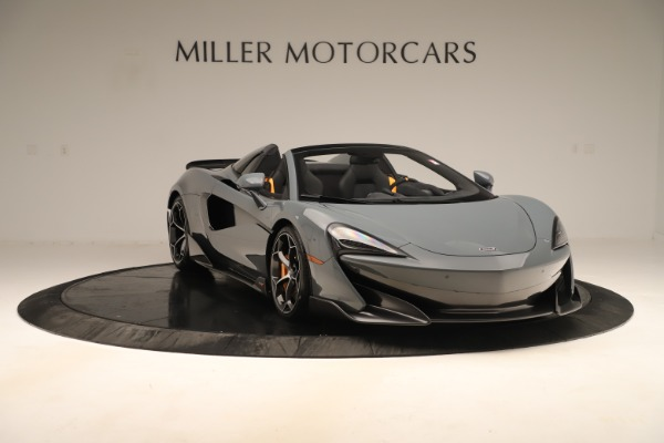 Used 2020 McLaren 600LT Spider for sale Sold at Rolls-Royce Motor Cars Greenwich in Greenwich CT 06830 10