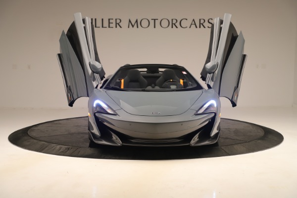 Used 2020 McLaren 600LT Spider for sale Sold at Rolls-Royce Motor Cars Greenwich in Greenwich CT 06830 12
