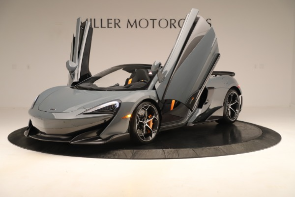 Used 2020 McLaren 600LT Spider for sale Sold at Rolls-Royce Motor Cars Greenwich in Greenwich CT 06830 13