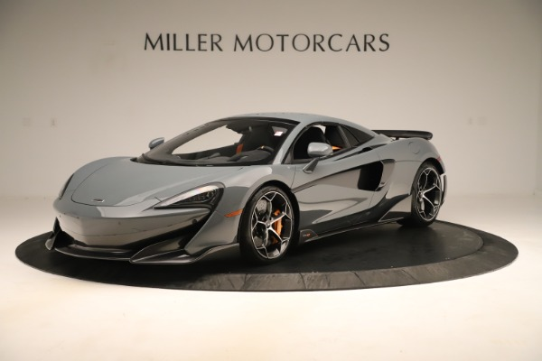 New 2020 McLaren 600LT SPIDER Convertible for sale Sold at Rolls-Royce Motor Cars Greenwich in Greenwich CT 06830 14