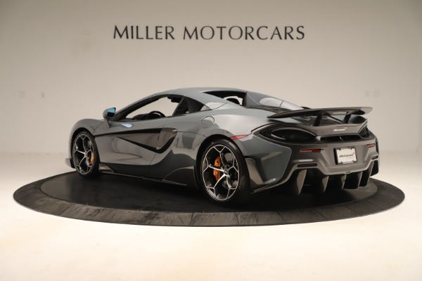 Used 2020 McLaren 600LT Spider for sale Sold at Rolls-Royce Motor Cars Greenwich in Greenwich CT 06830 16