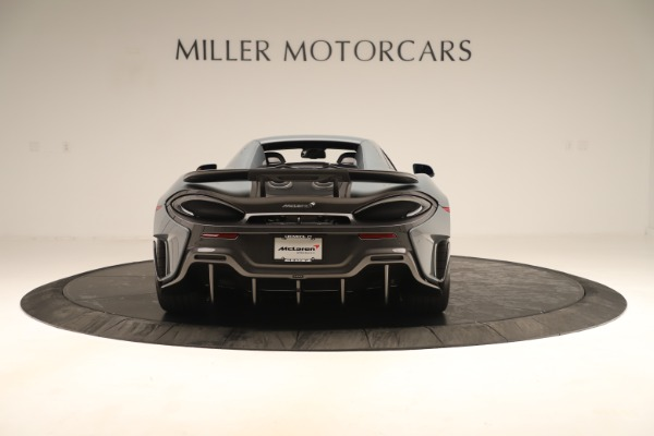Used 2020 McLaren 600LT Spider for sale Sold at Rolls-Royce Motor Cars Greenwich in Greenwich CT 06830 17