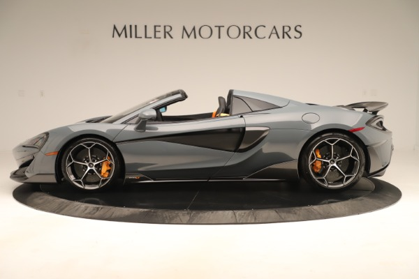 Used 2020 McLaren 600LT Spider for sale Sold at Rolls-Royce Motor Cars Greenwich in Greenwich CT 06830 2