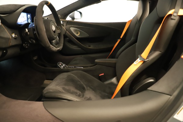 Used 2020 McLaren 600LT Spider for sale Sold at Rolls-Royce Motor Cars Greenwich in Greenwich CT 06830 23