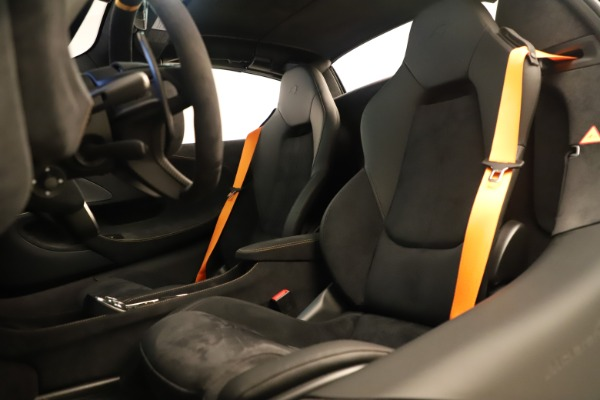 Used 2020 McLaren 600LT Spider for sale Sold at Rolls-Royce Motor Cars Greenwich in Greenwich CT 06830 24