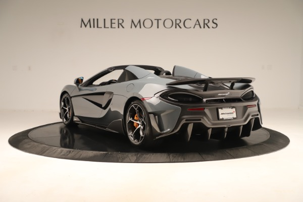 Used 2020 McLaren 600LT Spider for sale Sold at Rolls-Royce Motor Cars Greenwich in Greenwich CT 06830 4
