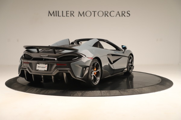 Used 2020 McLaren 600LT Spider for sale Sold at Rolls-Royce Motor Cars Greenwich in Greenwich CT 06830 6