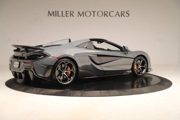 Used 2020 McLaren 600LT Spider for sale Sold at Rolls-Royce Motor Cars Greenwich in Greenwich CT 06830 7