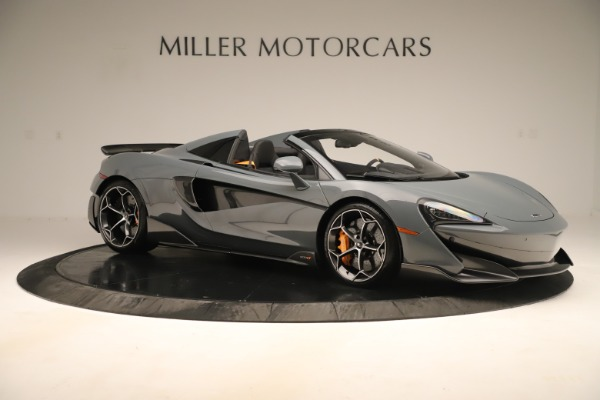 Used 2020 McLaren 600LT Spider for sale Sold at Rolls-Royce Motor Cars Greenwich in Greenwich CT 06830 9