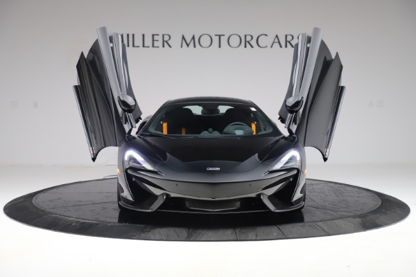 Used 2017 McLaren 570S Coupe for sale $161,900 at Rolls-Royce Motor Cars Greenwich in Greenwich CT 06830 12