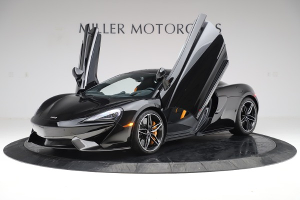 Used 2017 McLaren 570S Coupe for sale Sold at Rolls-Royce Motor Cars Greenwich in Greenwich CT 06830 13