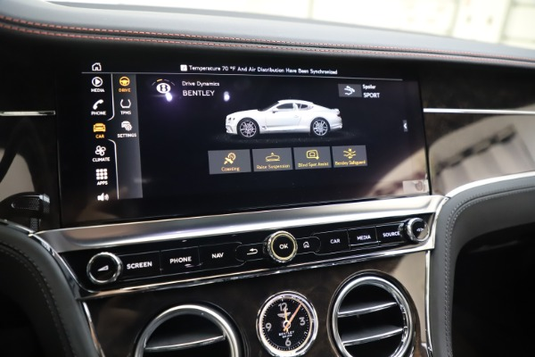 Used 2020 Bentley Continental GT V8 for sale Sold at Rolls-Royce Motor Cars Greenwich in Greenwich CT 06830 28
