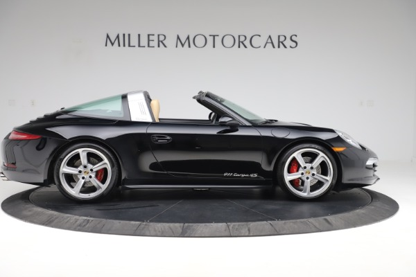 Used 2016 Porsche 911 Targa 4S for sale Sold at Rolls-Royce Motor Cars Greenwich in Greenwich CT 06830 10