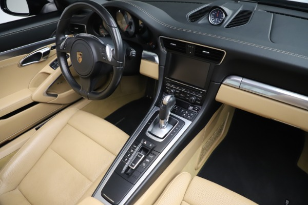 Used 2016 Porsche 911 Targa 4S for sale Sold at Rolls-Royce Motor Cars Greenwich in Greenwich CT 06830 22