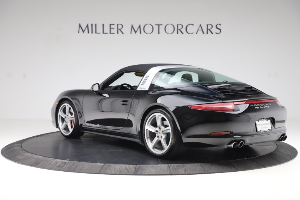 Used 2016 Porsche 911 Targa 4S for sale Sold at Rolls-Royce Motor Cars Greenwich in Greenwich CT 06830 28