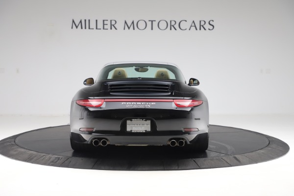 Used 2016 Porsche 911 Targa 4S for sale Sold at Rolls-Royce Motor Cars Greenwich in Greenwich CT 06830 6