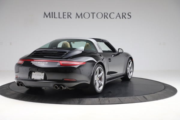 Used 2016 Porsche 911 Targa 4S for sale Sold at Rolls-Royce Motor Cars Greenwich in Greenwich CT 06830 7