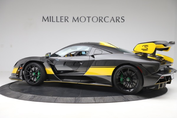 Used 2019 McLaren Senna for sale Sold at Rolls-Royce Motor Cars Greenwich in Greenwich CT 06830 3