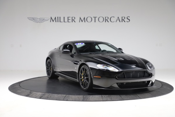 Used 2015 Aston Martin V12 Vantage S Coupe for sale $104,900 at Rolls-Royce Motor Cars Greenwich in Greenwich CT 06830 10