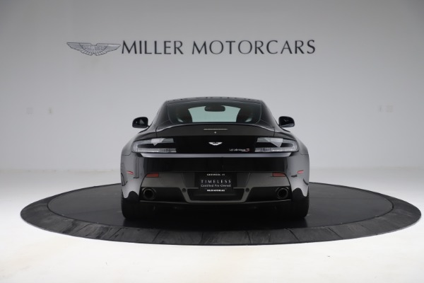 Used 2015 Aston Martin V12 Vantage S Coupe for sale $104,900 at Rolls-Royce Motor Cars Greenwich in Greenwich CT 06830 6