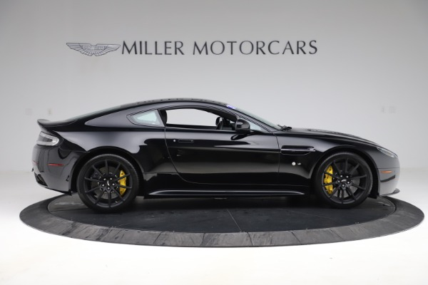 Used 2015 Aston Martin V12 Vantage S Coupe for sale $104,900 at Rolls-Royce Motor Cars Greenwich in Greenwich CT 06830 8
