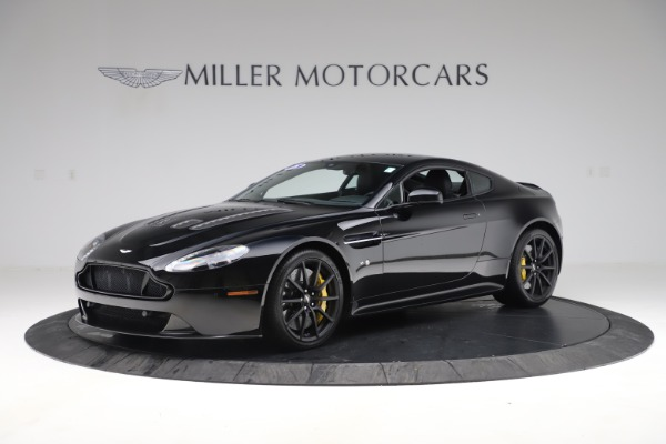 Used 2015 Aston Martin V12 Vantage S Coupe for sale $104,900 at Rolls-Royce Motor Cars Greenwich in Greenwich CT 06830 1