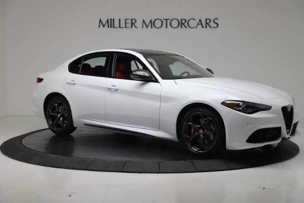 New 2019 Alfa Romeo Giulia Ti Sport Carbon Q4 for sale Sold at Rolls-Royce Motor Cars Greenwich in Greenwich CT 06830 10