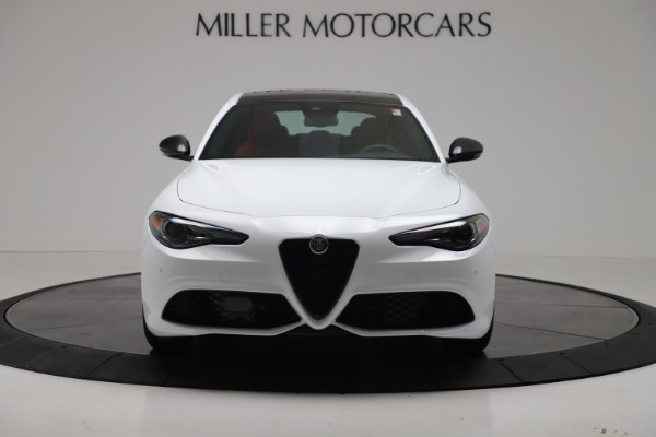 New 2019 Alfa Romeo Giulia Ti Sport Carbon Q4 for sale Sold at Rolls-Royce Motor Cars Greenwich in Greenwich CT 06830 12