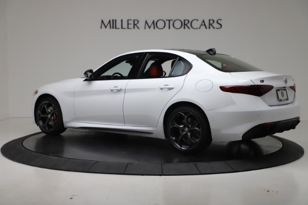 New 2019 Alfa Romeo Giulia Ti Sport Carbon Q4 for sale Sold at Rolls-Royce Motor Cars Greenwich in Greenwich CT 06830 4
