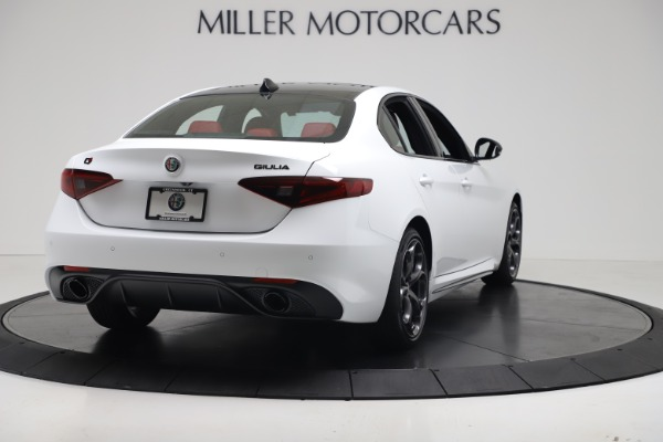 New 2019 Alfa Romeo Giulia Ti Sport Carbon Q4 for sale Sold at Rolls-Royce Motor Cars Greenwich in Greenwich CT 06830 7