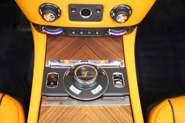 Used 2017 Rolls-Royce Dawn for sale $249,900 at Rolls-Royce Motor Cars Greenwich in Greenwich CT 06830 27