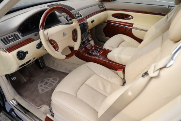 Used 2009 Maybach 62 for sale Sold at Rolls-Royce Motor Cars Greenwich in Greenwich CT 06830 13
