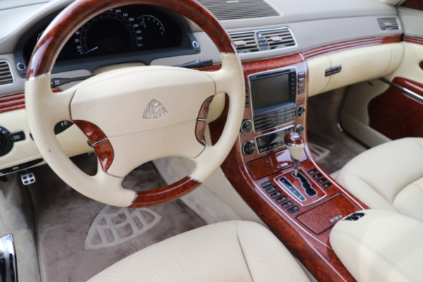 Used 2009 Maybach 62 for sale Sold at Rolls-Royce Motor Cars Greenwich in Greenwich CT 06830 16