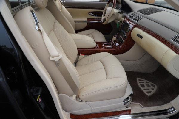 Used 2009 Maybach 62 for sale Sold at Rolls-Royce Motor Cars Greenwich in Greenwich CT 06830 25