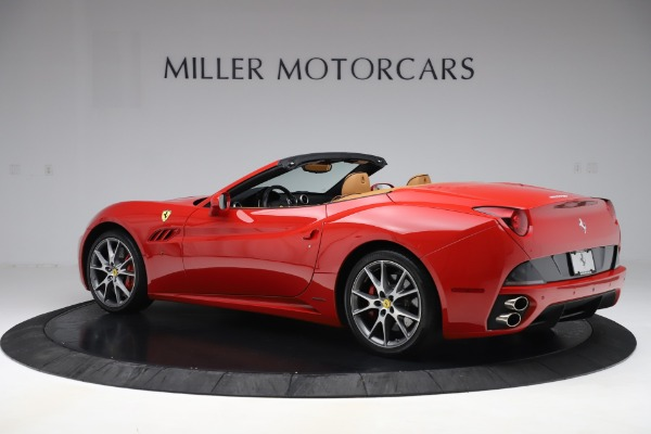 Used 2013 Ferrari California 30 for sale Sold at Rolls-Royce Motor Cars Greenwich in Greenwich CT 06830 4
