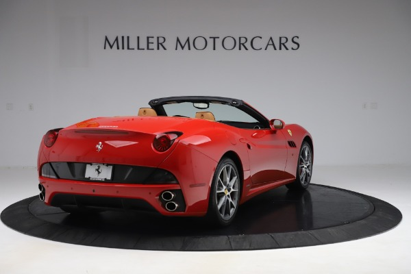 Used 2013 Ferrari California 30 for sale Sold at Rolls-Royce Motor Cars Greenwich in Greenwich CT 06830 7