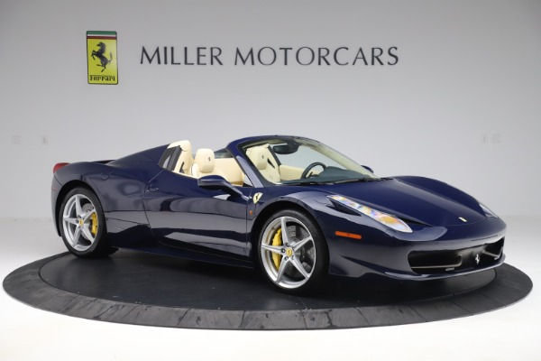 Used 2013 Ferrari 458 Spider for sale Sold at Rolls-Royce Motor Cars Greenwich in Greenwich CT 06830 10