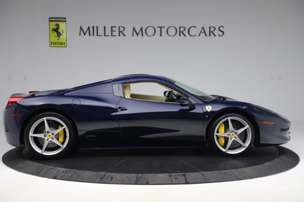 Used 2013 Ferrari 458 Spider for sale Sold at Rolls-Royce Motor Cars Greenwich in Greenwich CT 06830 17