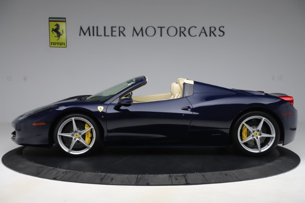 Used 2013 Ferrari 458 Spider for sale Sold at Rolls-Royce Motor Cars Greenwich in Greenwich CT 06830 3